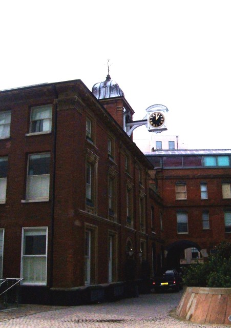 Cannon Brewery, only original buildings remaining