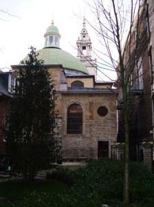 St Stephen Walbrook, the churchyard