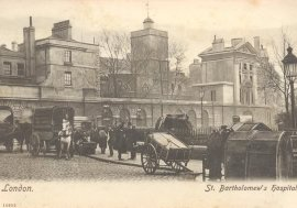 St Bartholomew's Hospital, early 1900s?