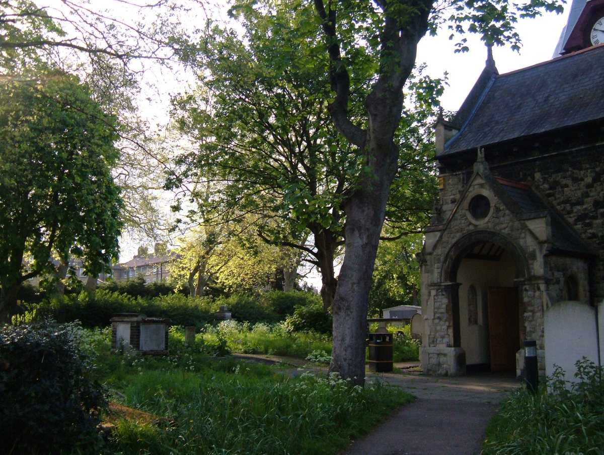The Church of St Mathias, Poplar