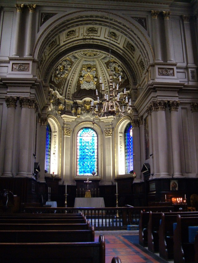 St Mary le Strand, interior