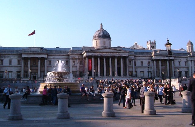 The National Gallery today