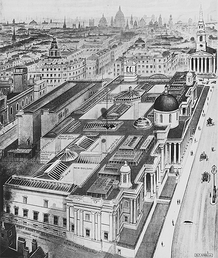 The new additions to the National Gallery, 1910