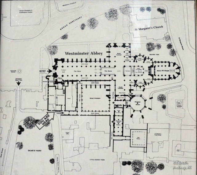 Ground plan for the Abbey and precincts