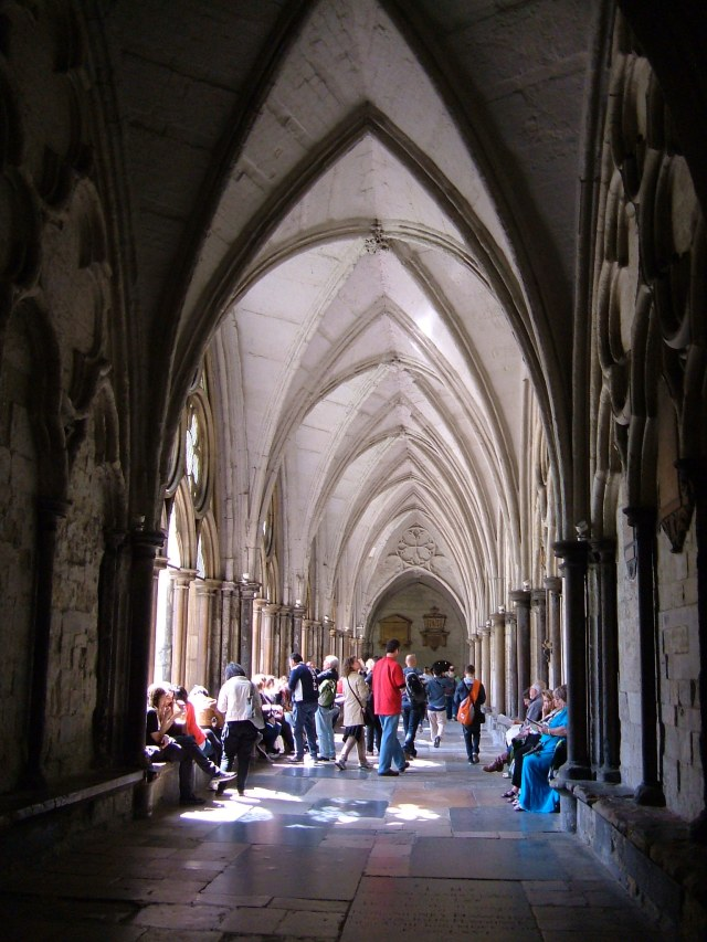 The Large Cloister, Westminster Abbey