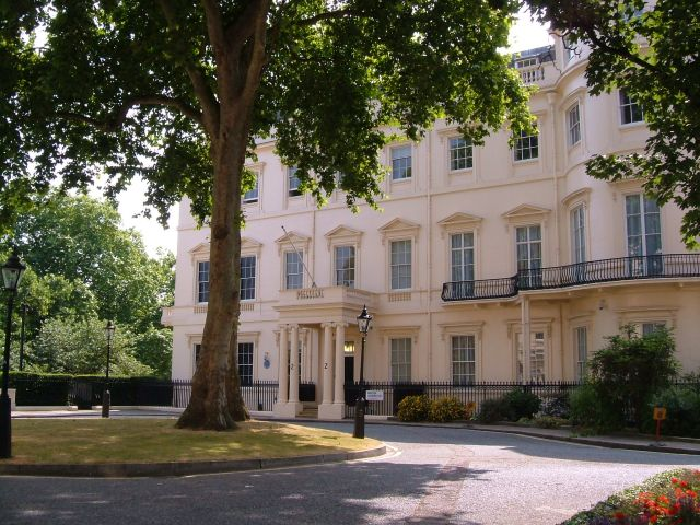 No.2 Carlton Gardens, the home for a while of Field Marshal Earl Kitchener