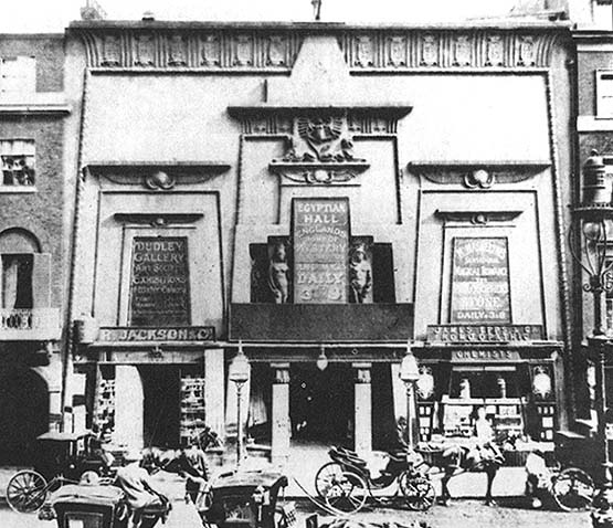 The Egyptian Hall, 1895, at 170-171 Piccadilly