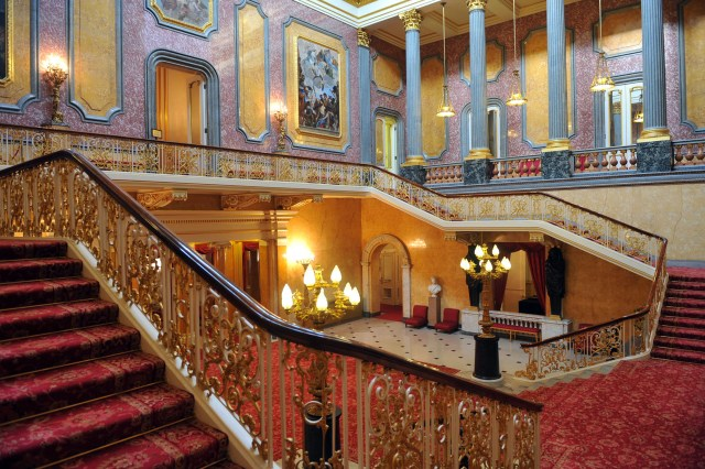 The interior of Stafford House (Lancaster House)