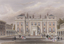 Marlborough House in the 1850s
