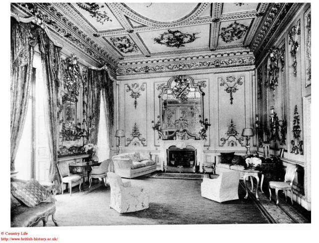 Norfolk House, The Music Room re-erected in the V&A