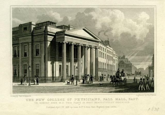 The Royal College of Physicians, 1828