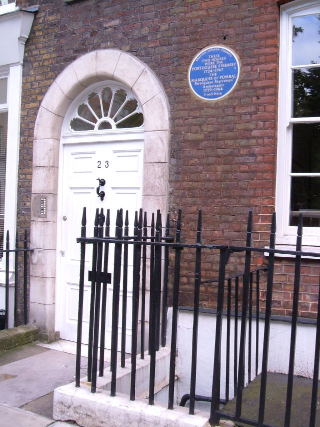The Portuguese Embassy in the 18C, Golden Square