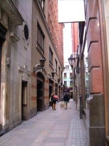 Tenison Court, off Regent Street