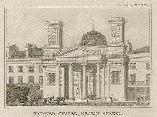 Hanover Chapel, Regent Street, London