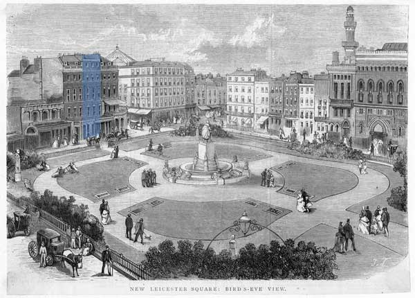 Leicester Square, 1878