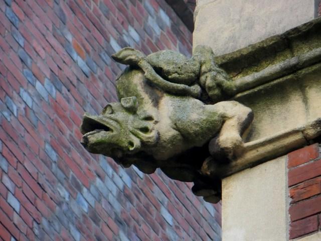 Gargoyle in Lincoln's Inn