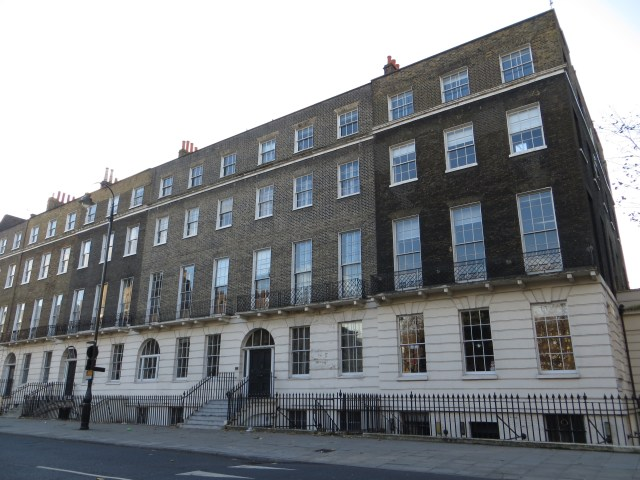 The west side of Russell Square