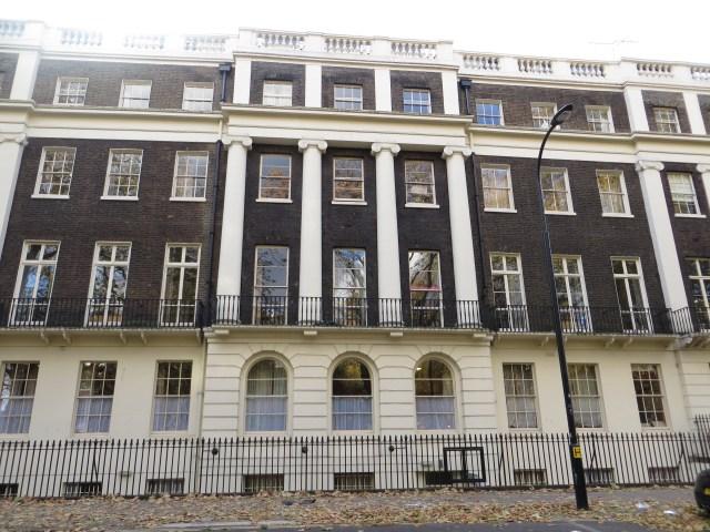 The west side of Tavistock Square