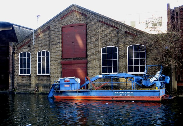 Warehouses along the canal, towards Paddington Basin
