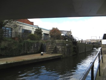 Kentish Town Lock
