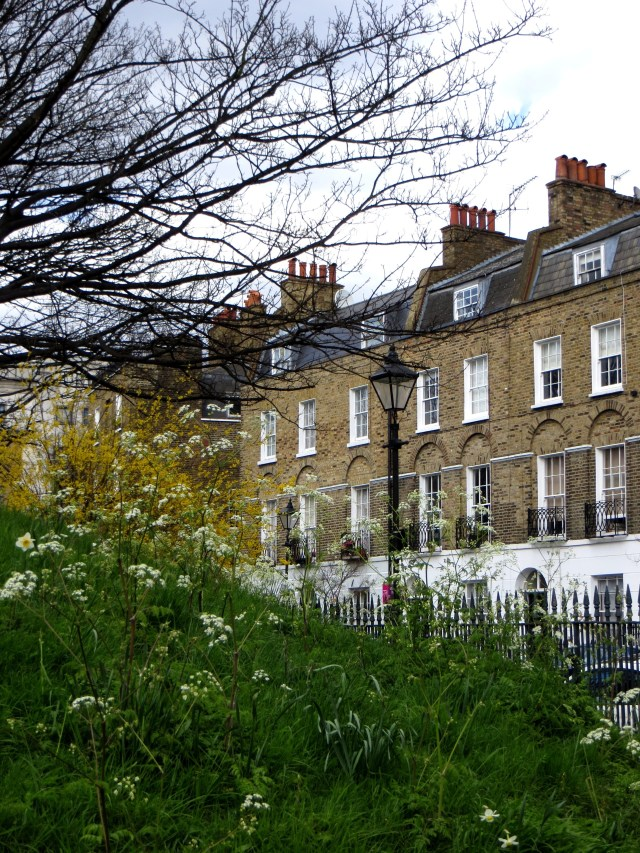 Claremont Square, south east corner