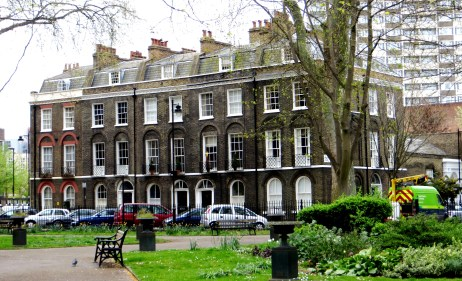Northampton Square, the original south side