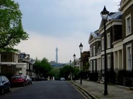 Lloyd Square, looking down Wharton Street