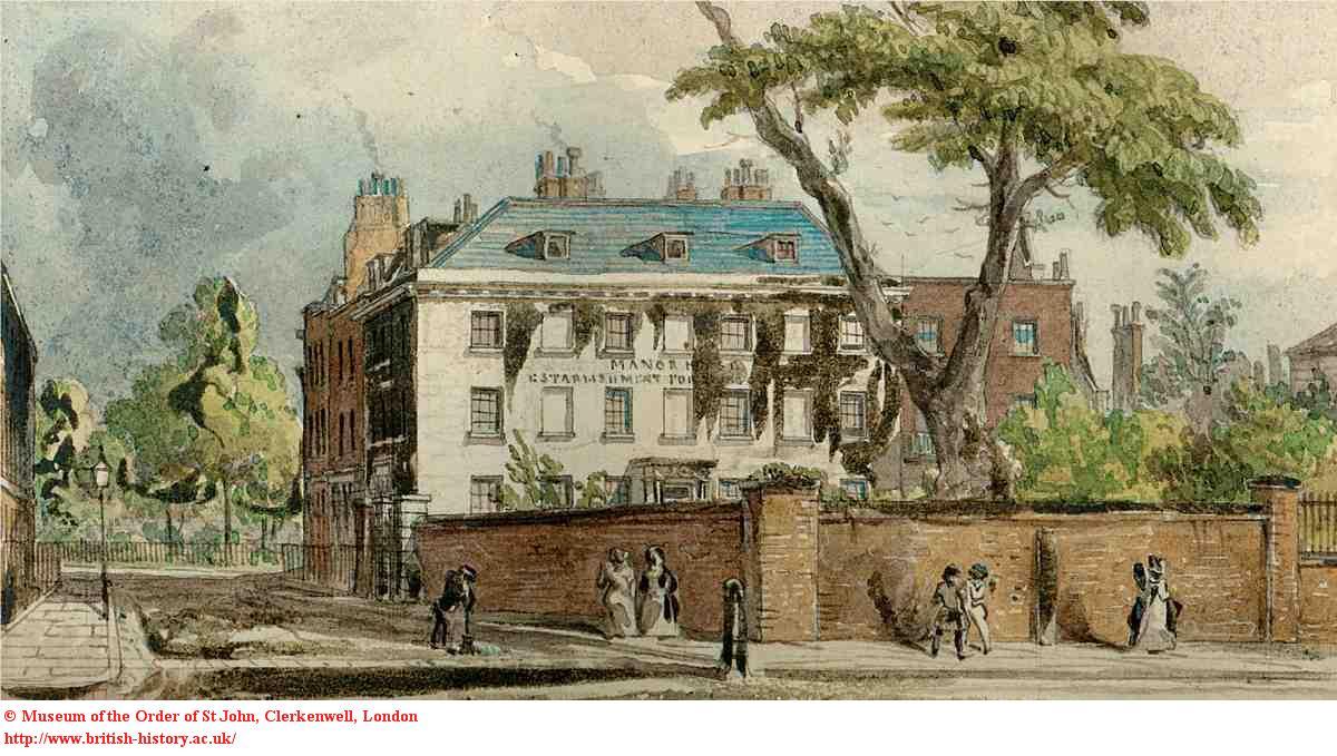 Northampton House, 1850