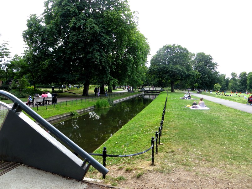 New River in Clissold Park