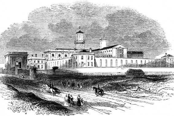 Pentonville Prison, 1842 (Wikipedia)