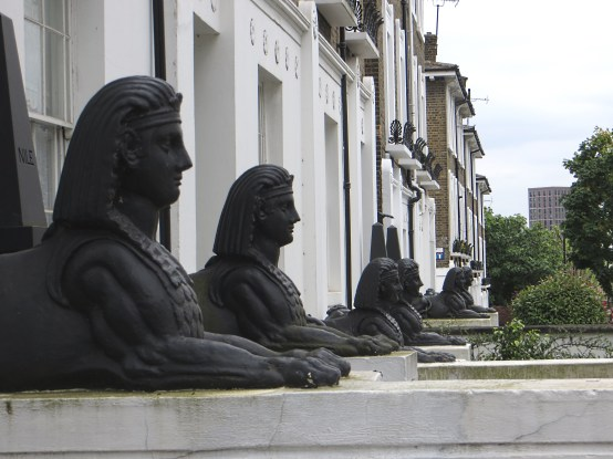 Richmond Avenue Statues