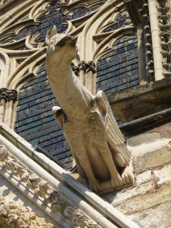 Gargoyle on West Front