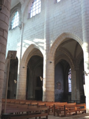 Interior of Saint Bonnet