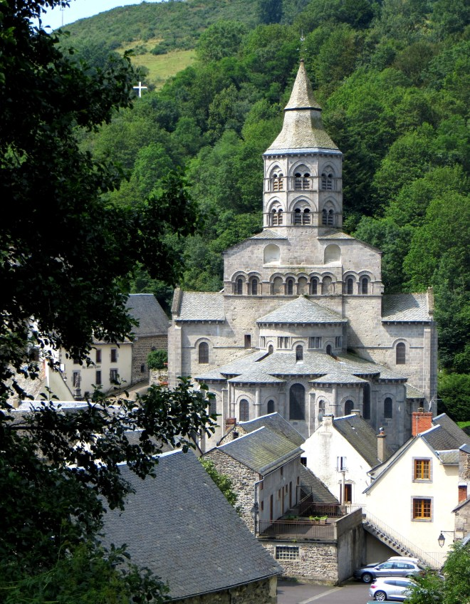 The Church of Notre Dame d'Orcival