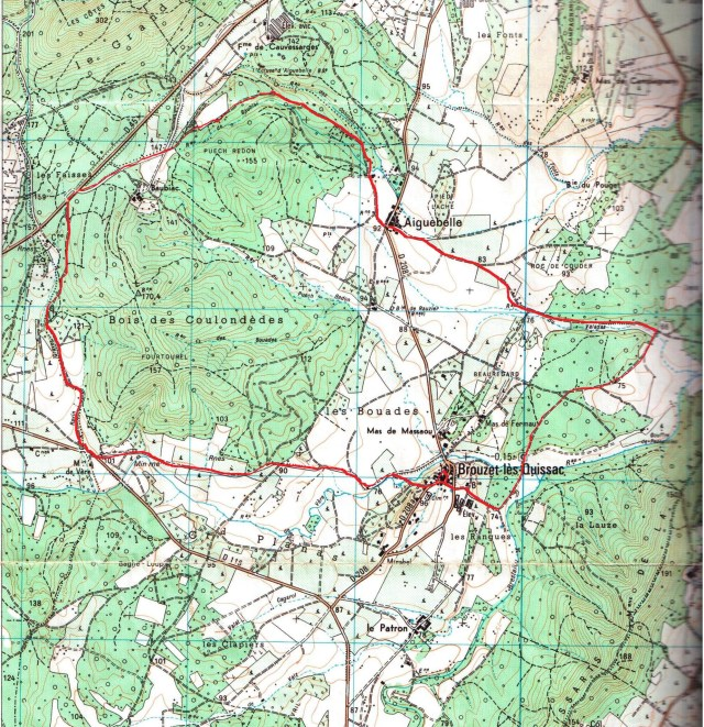 Carte de Randonnee 2742 ET