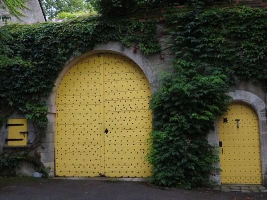 Doorways in the old quarter, Issoudun
