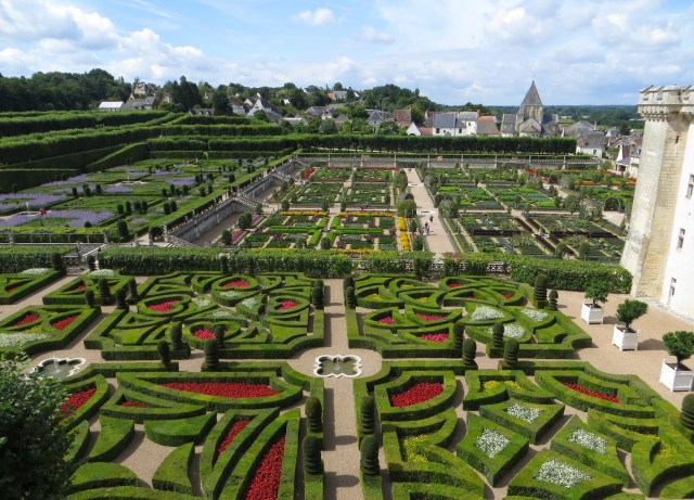 Gardens of the Chateau of Villandry