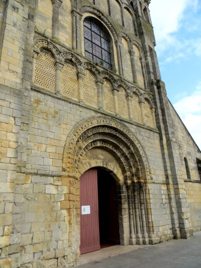 St Sampson's Church, Ouistreham, the west front