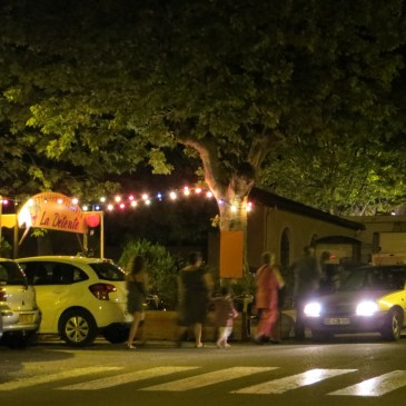 Travel in France – St Hippolyte at night