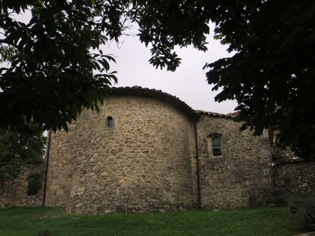 The church of St Croix de Caderle