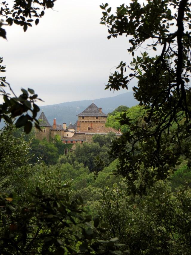 Chateau de Cornelly, 16C, above LaSalle