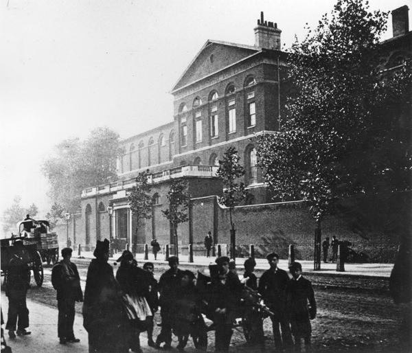 St Luke's Hospital, 19C (Spitalfields Life)