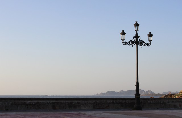 Looking out to sea from the Parador at Baiona