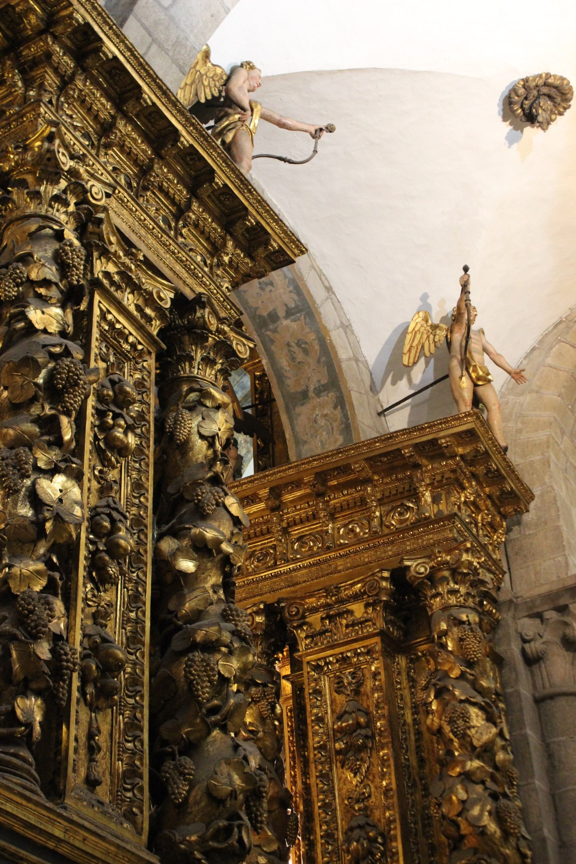 Baroque carvings in the Cathedral