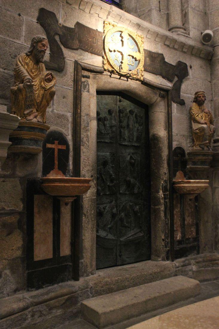The Cathedral of Santiago de Compostelo