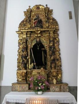 In the Benedictine Chapel