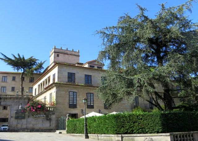 The Parador in Pontevedra