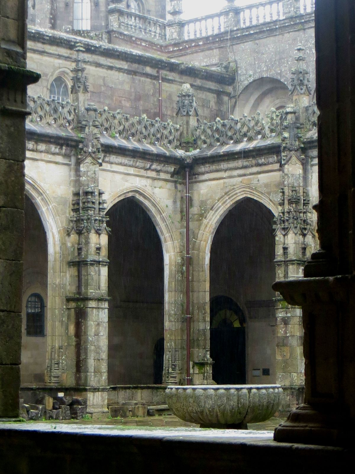 The Cloister of the Cathedral