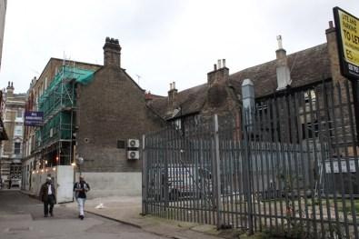 The site of the Talbot Inn