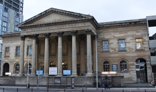 Metropolitan Tabernacle, on the site of the almshouses